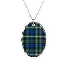 Tartan - Graham of Montrose Necklace Oval Charm