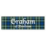Tartan - Graham of Montrose Sticker (Bumper)