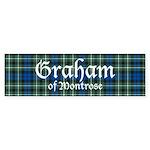 Tartan - Graham of Montrose Sticker (Bumper 10 pk)