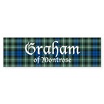 Tartan - Graham of Montrose Sticker (Bumper 50 pk)