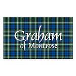 Tartan - Graham of Montrose Sticker (Rectangle 50