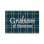 Tartan - Graham of Montrose Rectangle Magnet (10 p