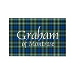 Tartan - Graham of Montrose Rectangle Magnet (100