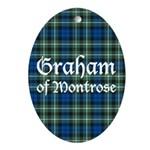 Tartan - Graham of Montrose Ornament (Oval)