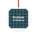 Tartan - Graham of Montrose Ornament (Round)