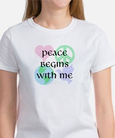 Peace Begins With Me Tee