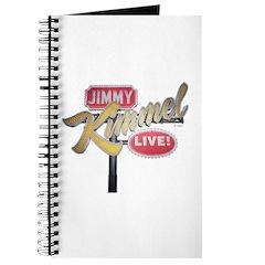 Jimmy Kimmel Sign Journal