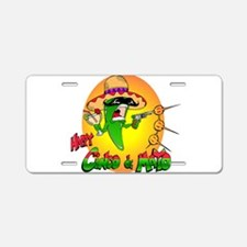 Happy Cinco de Mayo Aluminum License Plate