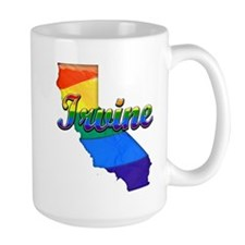 Irvine, California. Gay Pride Mug