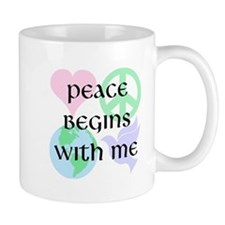 Peace Begins With Me Mug