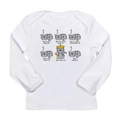 The Cat Long Sleeve Infant T-Shirt