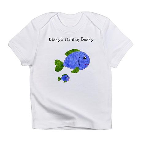 Fishing buddy infant t shirt for Baby fishing shirts