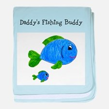 Fishing Buddy baby blanket
