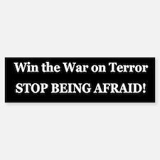 War on Terror Bumper Bumper Bumper Sticker