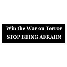 War on Terror Bumper Bumper Sticker