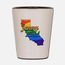 Jenny Lind, California. Gay Pride Shot Glass