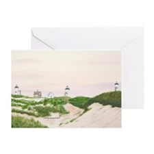 Three Sisters of Nauset Beach Greeting Card