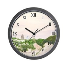 Three Sisters of Nauset Beach Wall Clock