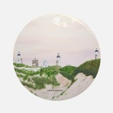 Three Sisters of Nauset Beach Ornament (Round)