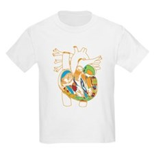 Anatomy Shirt - 'Heart' Kids T-Shirt