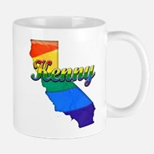 Kenny, California. Gay Pride Mug