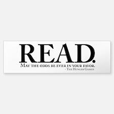READ. Bumper Bumper Sticker