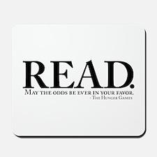 READ. Mousepad