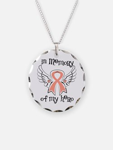Memory Endometrial Cancer Necklace
