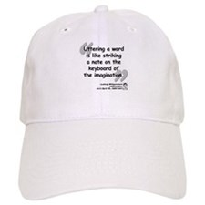 Wittgenstein Word Quote Baseball Cap