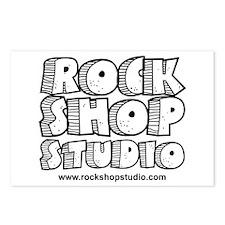 Rock Shop Studio Postcards (Package of 8)