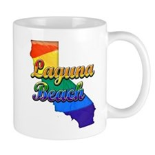 Laguna Beach, California. Gay Pride Mug