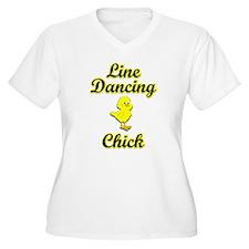 Line Dancing Chick T-Shirt