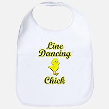 Line Dancing Chick Bib