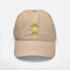 Line Dancing Chick Baseball Baseball Cap