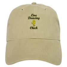 Line Dancing Chick Baseball Cap