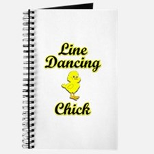 Line Dancing Chick Journal