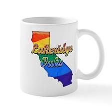 Lakeridge Oaks, California. Gay Pride Mug