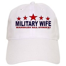 Military Wife Handles All Strife Baseball Cap