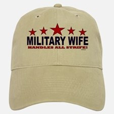 Military Wife Handles All Strife Baseball Baseball Cap