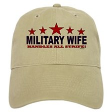 Military Wife Handles All Strife Baseball Cap