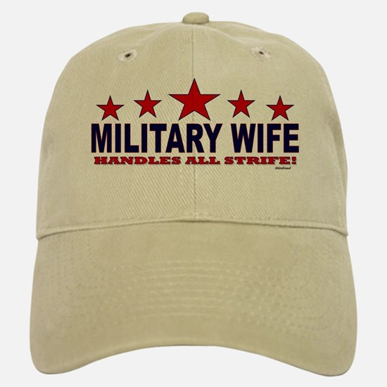 Military Wife Handles All Strife Hat