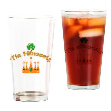 'Tis Himself Irish Drinking Glass