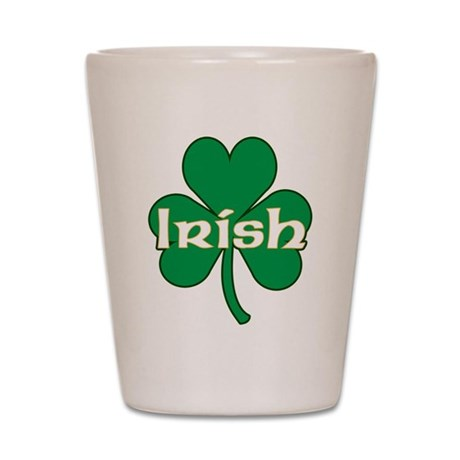 Irish Shamrock Shot Glass