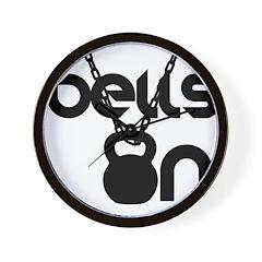 Bells On 2 Wall Clock