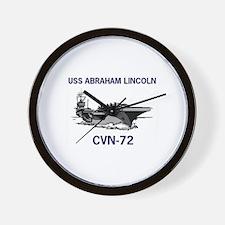 USS ABRAHAM LINCOLN Wall Clock