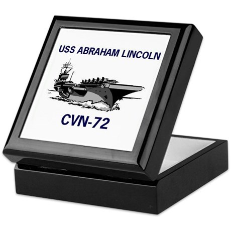 USS ABRAHAM LINCOLN Keepsake Box