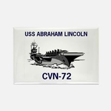 USS ABRAHAM LINCOLN Rectangle Magnet (10 pack)