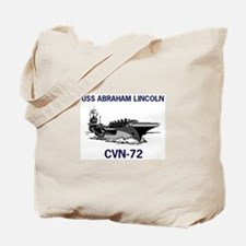 USS ABRAHAM LINCOLN Tote Bag