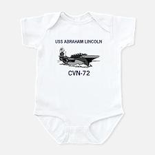 USS ABRAHAM LINCOLN Infant Creeper