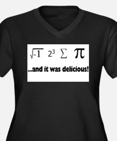 delicious pi Plus Size T-Shirt